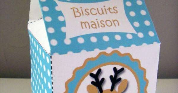 Diy bo tes imprimer pour des biscuits faits maison lady bidouille activit s pour les - Maison en biscuit et bonbons ...