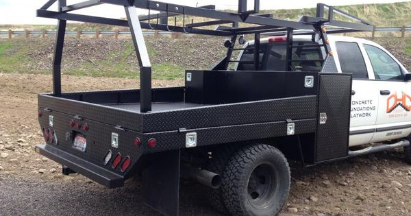 Related Image Truck Accesories Custom Flatbed Welding Rigs