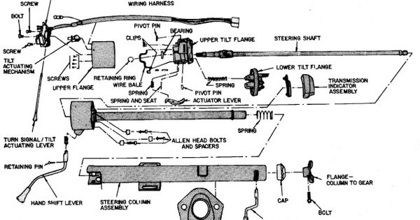 90 f150 steering column