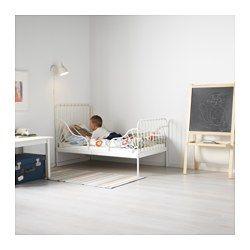 Letti Allungabili Per Bambini.Minnen Struttura Letto Allungabile E Doghe Bianco 80x200 Cm