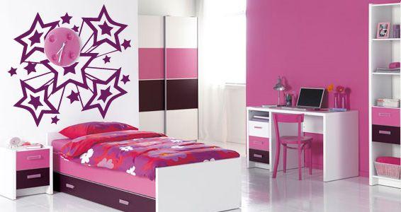 Decoracion infantil para ni a decoraci n dormitorios - Dormitorios infantiles nina ...