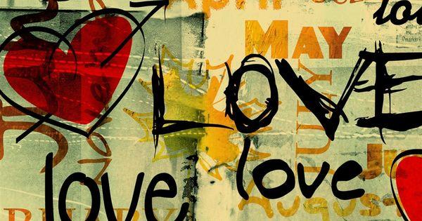 Pin By Ilikewallpaper Ios Wallpaper On Ipad Wallpapers: Love Written In Graffiti IPad 4 Wallpaper Download
