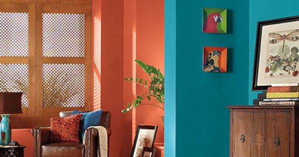 Make A Bold Statement In Your Entryway With A Colorful