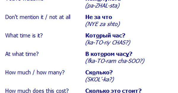 Travel A Russian Language 113