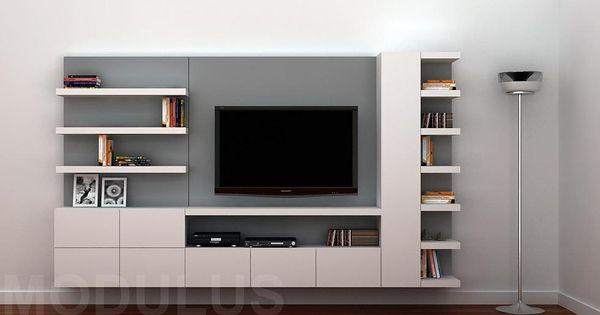 Modulus muebles de dise o wall unit buenos aires for Muebles de oficina modernos buenos aires