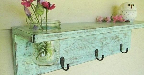 m bel selber machen vintage look kleiderhaken einrichten. Black Bedroom Furniture Sets. Home Design Ideas