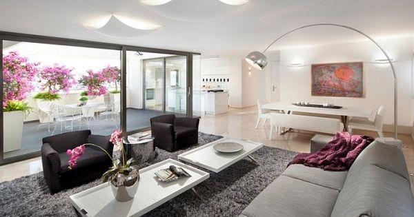 Raumideen Für Modernes Wohnzimmer-sitzgarnitur Im Stil Mid-century ... Sitzgarnitur Wohnzimmer Modern