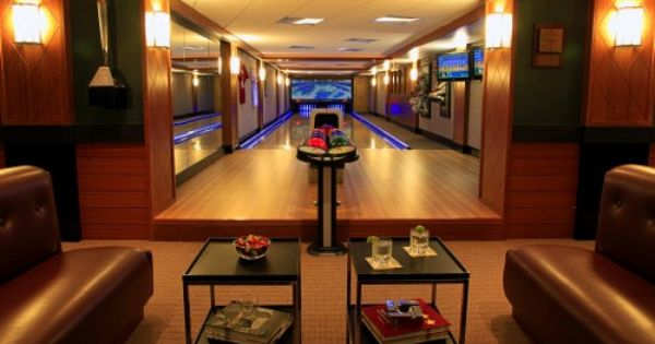 Man Cave Accessories Llc : Bowling alley in the basement why didn t i think of that