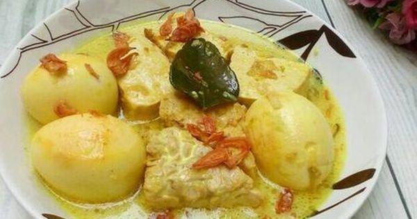 Resep Terik Tahu Tempe Telur Untuk Balita Oleh Mimijuna Resep Makanan Balita Resep Resep Makanan Balita