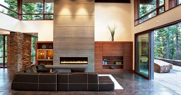 Fabulous mountain modern digs in north lake tahoe lakes for Lake tahoe architecture firms