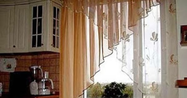 Curtains Ideas contemporary kitchen curtain ideas : 17 Best images about curtains on Pinterest | Arched window ...