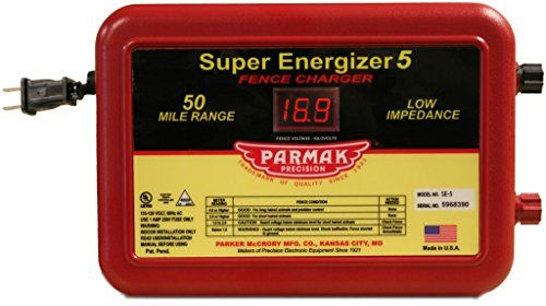 Parmak Super Energizer 5 Low Impedance 110 120 Volt 50 Mi Https Www Amazon Com Dp B0002yuwha Ref Cm Fence Charger Electric Fence Electric Fence Energizer