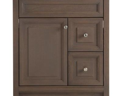 Home Decorators Collection Brinkhill 30 In W Vanity Cabinet Only In Flagstone Flagstone
