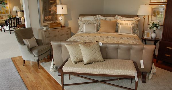 Eldredge furniture in salt lake city utah shared this picture of the calla bed by mariette for Salt lake city bedroom furniture
