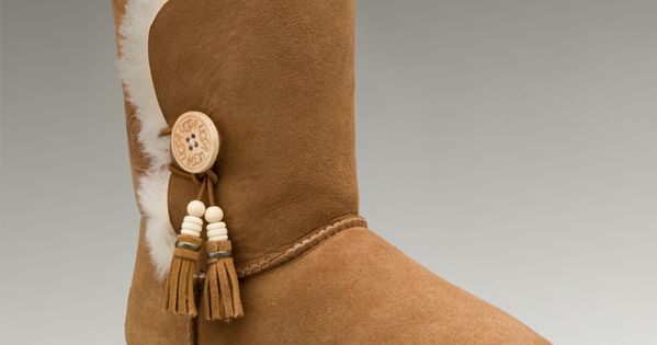 UggWomens Bailey Charm Chestnut - UGGs Outlet With Elegant Design, Free Shipping,