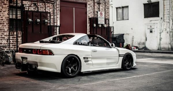 function form michael teh s toyota mr2 slammed. Black Bedroom Furniture Sets. Home Design Ideas