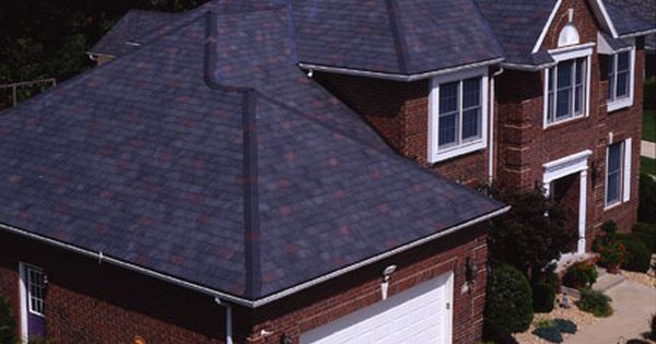 Best That Navy Blue Roof Really Compliments The Red Brick I 640 x 480