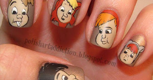 "Disney Fashion Alert: 25 Awesome Disney Movie Nail Art Ideas ""Peter Pan"""
