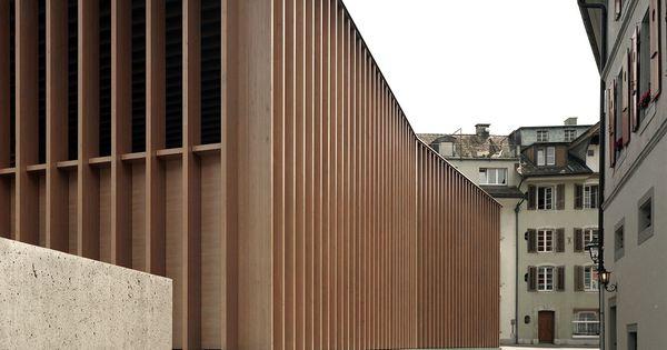 MILLER & MARANTA . Market Hall . Aarau (1) | Architecture | Pinterest | Google, Search and Facades
