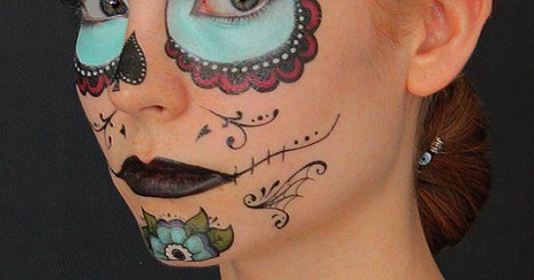 Top Halloween Tutorial Sugar Tattoo Tattoos In Lists For Pinterest