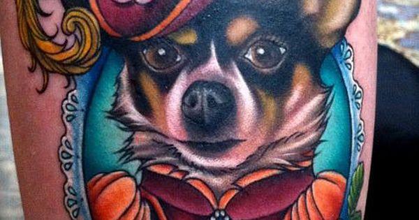 Fancy dog tattoo - from NY Ink - I should definitely do