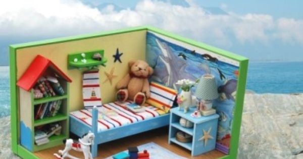 Miniature Children S Bedroom Room Box Diorama: I've Always Wanted To