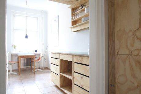 Zwei Hecken Projekte Corridor Kitchen Karl Marx Allee Kucheneinrichtung Einrichten Und Wohnen Projekte