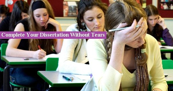 complete your dissertation blog Do want to finish your thesis or dissertation what can you do right now to complete your project in a more timely fashion your blog has the additional advantage of providing back up copies of your work in the unfortunate event that your computer crashes.