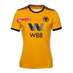 Wolves 2018-19 Top Home Jersey [M461] | Soccer jersey, Soccer logo ...