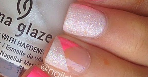 Cute for summer! Nail Art Gallery 2014 new nail art loveit!! nailart