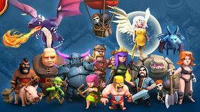 Image For Clash Of Clans Troops Wallpaper Hd Clash Of