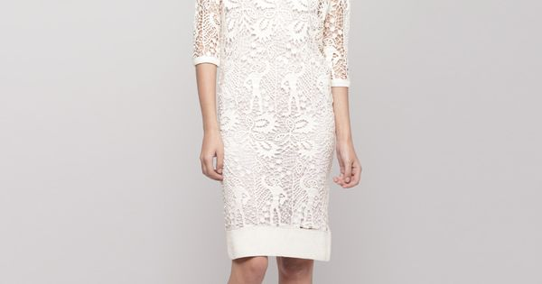 #lace dress and ankle boots