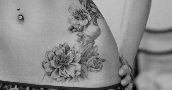 hip tattoos placement