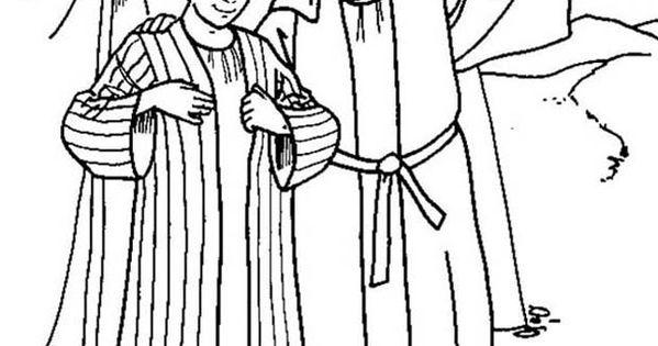 Jozef Krijgt Zijn Mooie Jas Godsdienst Werkjes