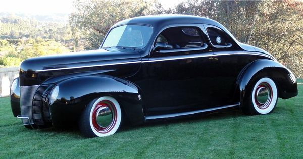 1940 Ford Deluxe Custom 2 Door Coupe Early American Cars