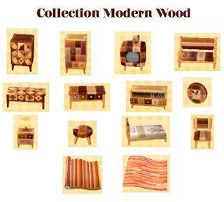 Modern Wood Furniture Modern Wood Furniture Modern Wood Animal Crossing