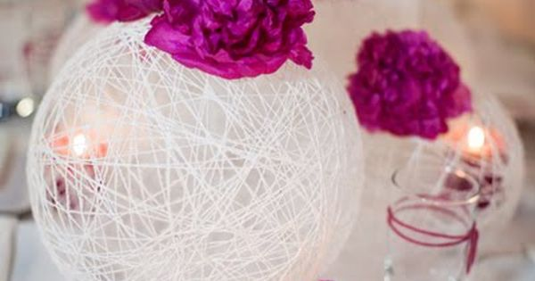 DIY Wedding Centrepiece Idea -