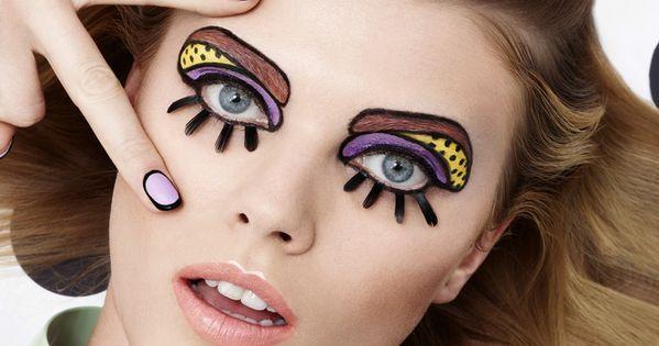 Popart Make up