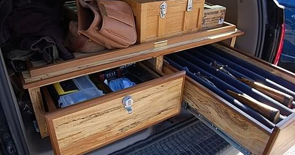 Pickup Bed Gun Gear Storage Stuff I Want To Make
