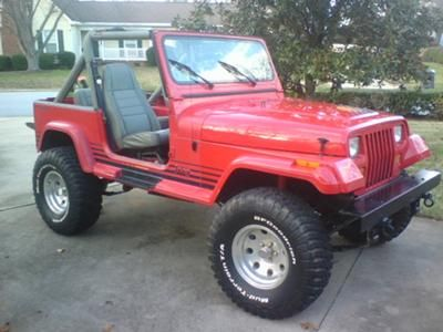 i own a 1989 jeep wrangler islander edition it has 4. Black Bedroom Furniture Sets. Home Design Ideas