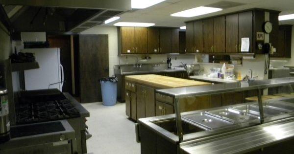 Industrial church kitchens first united methodist church paris tennessee church kitchen for Church kitchen designs