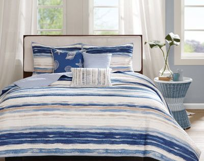 Buy Madison Park Anchorage 6 Pc Coverlet Set Today At Jcpenney Com You Deserve Great Deals And We Ve Got Them At Jcp Coverlet Set Bedding Sets Bed Spreads