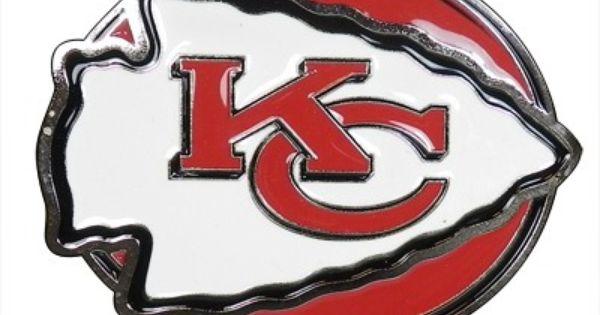 Nfl Kansas City Chiefs 3d Logo Trailer Tow Hitch Cover Su