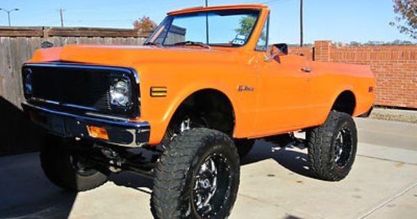 1967 K5 Blazer Chevrolet Blazer 1969 K5 Blazer Sold Price