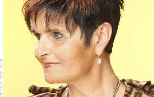 spiked hair cuts for women over 50 | Hairstyles for Women Over 50 ...