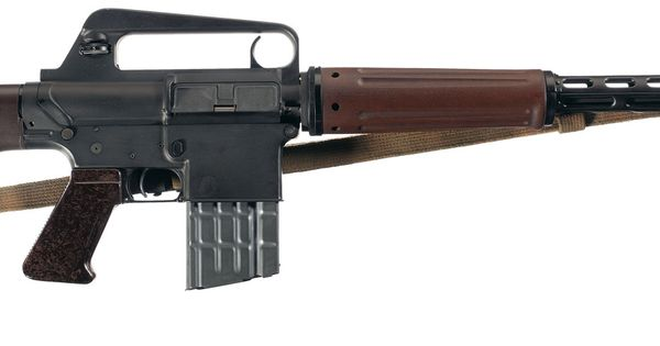 Armalite AR-10 prototype for the M16 | Historic Firearms ...