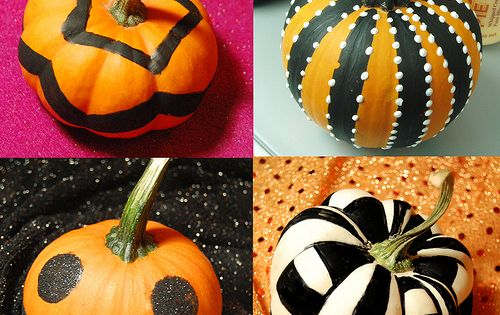 Pumpkins! - Most of these were done with permanent markers! Some had