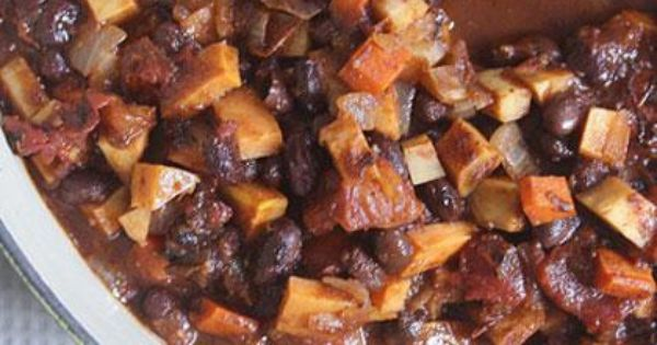 ... leftovers, Root vegetables and Black bean chili on Pinterest