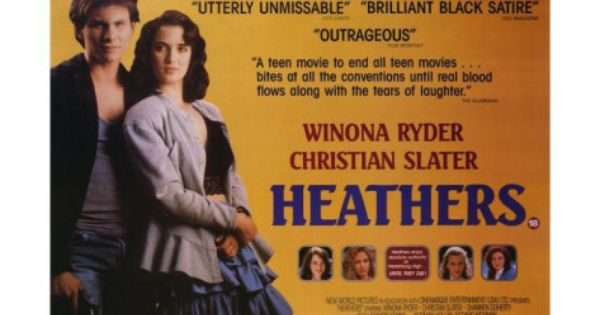 Heathers Posters Allposters Com In 2021 Heathers Movie Christian Slater Heathers Quotes