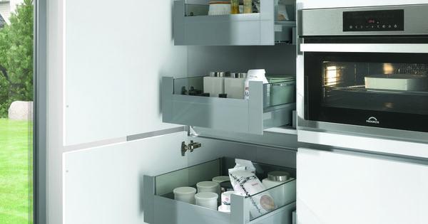 Keuken i opbergruimte i indeling keukenkast i opruimen i meyer totaal keuken interieur - D co keuken ...